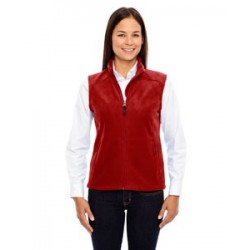 LADIES' MICROFLEECE VEST WITH MELLING LOGO EMBROIDERED