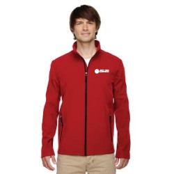 SOFT SHELL JACKET WITH MELLING LOGO EMBROIDERED