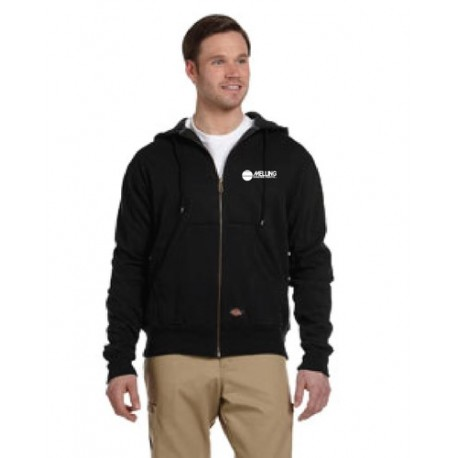 DICKIES THERMAL-LINED FLEECE JACKET WITH MELLING ENGINES LOGO EMBROIDERED