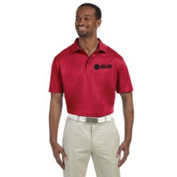 MOISTURE WICKING POLO SHIRT WITH MELLING LOGO EMBROIDERED