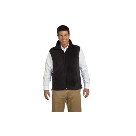 MICROFLEECE VEST WITH MELLING LOGO EMBROIDERED