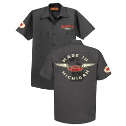 MADE IN MICHIGAN/CAMSHAFTS & OIL PUMPS SHOP SHIRT